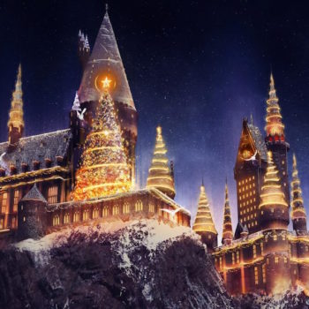 You can now celebrate Christmas at the Wizarding World of Harry Potter!