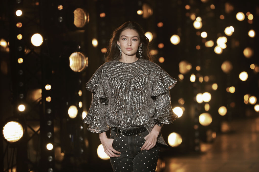 Gigi Hadid wore sweatpants that are glam enough for prom