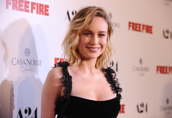 "Brie Larson was a gothic, Victorian dream at the ""Free Fire"" premiere"