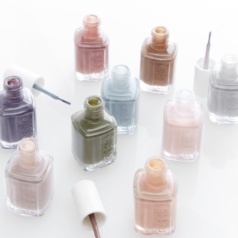 Essie's new Wild Nudes nail polish collection is a different take on spring colors