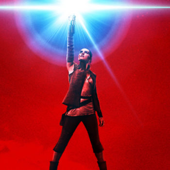 "You're going to want to rush right out and get the first poster for ""Star Wars: The Last Jedi"" tattooed on you"