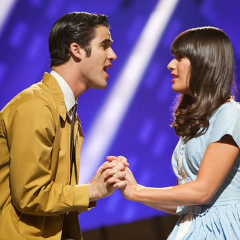 "Lea Michele and Darren Criss reunited to recreate their first ""Glee"" duet"