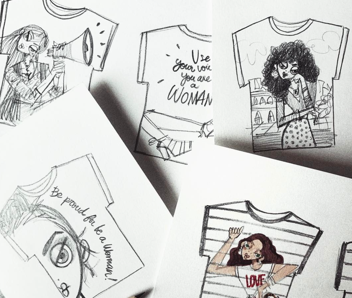 This Peruvian illustrator just made the cutest graphic tees, and trust us, you will want one (or three)