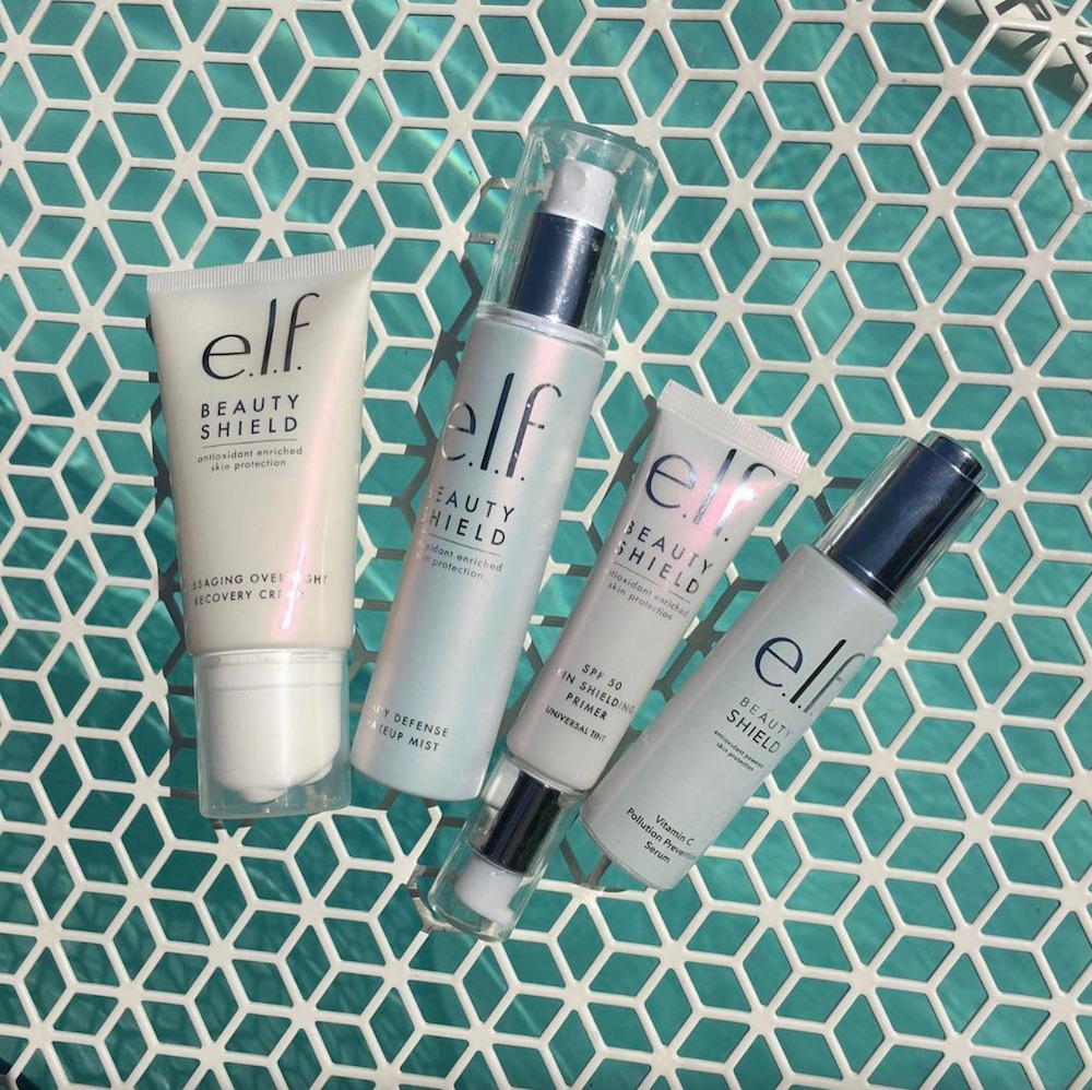 E.l.f. Cosmetics is coming out with a new skin care line called Beauty Shield