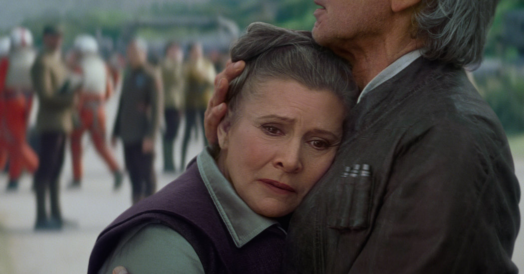"""Here's the saddest news ever: Carrie Fisher will NOT appear in """"Star Wars: Episode IX"""""""