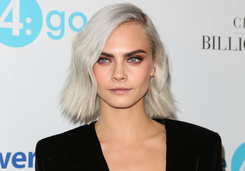 Stop what you're doing and watch this video of Cara Delevingne breaking a board with her bare hands
