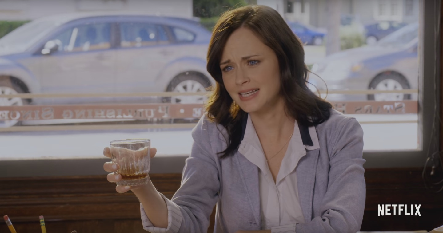 "There is a bar serving 12 ""Gilmore Girls""-themed cocktails, and how many can we try at once?"