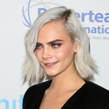 Cara Delevingne just debuted her chopped hair, and it's the most gorgeous fairy-inspired pixie