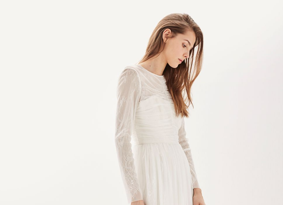 Topshop's gorgeous wedding gowns and bridesmaid dresses are finally here