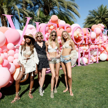 These Victoria's Secret Angels had a birthday party at Coachella, and our invitation must have gotten lost in the mail