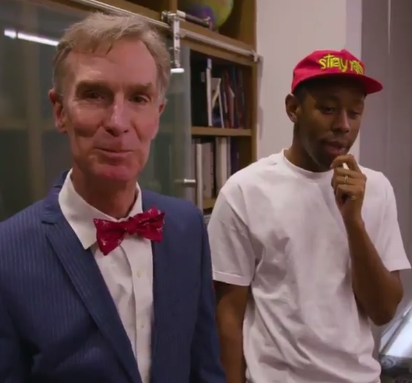 Rapper Tyler, The Creator wrote a theme song for Bill Nye's new Netflix show, and it's giving us major nostalgia