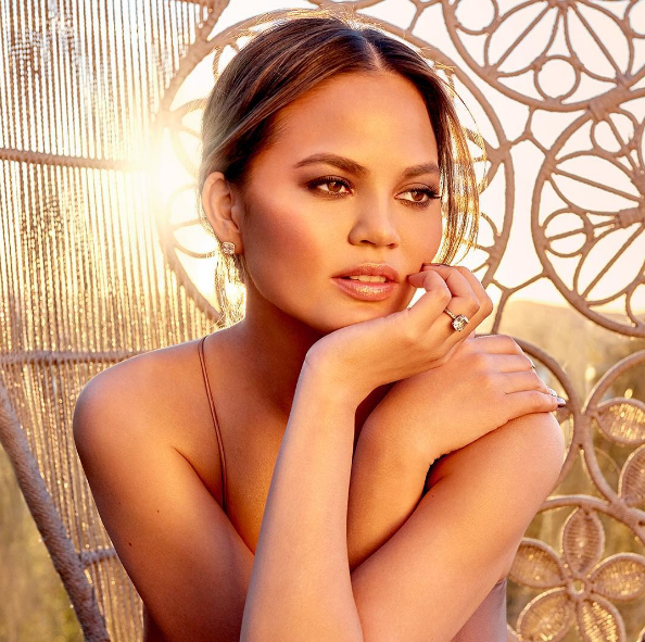 We're going cuckoo over these swatches of the Chrissy Teigen and Becca Cosmetics Glow Face palette