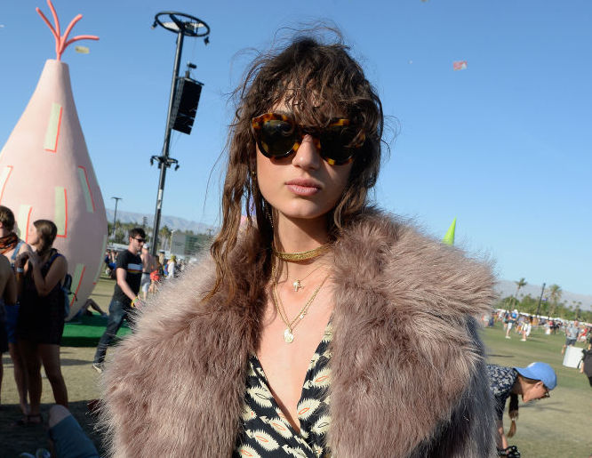 We're loving these Coachella fans with a totally unique take on the typical festival fashion