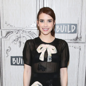 Emma Roberts paid no attention to typical Coachella style and instead went straight for the Victorian era