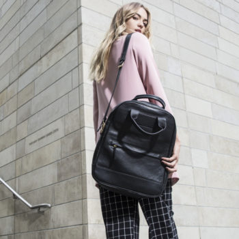 One of our favorite indie handbag brands just launched an affordable version of their popular carryall