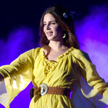 Lana Del Rey wrote a song on the way home from Coachella, and it was inspired by something SUPER important