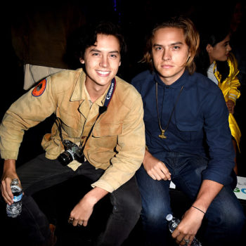 "Cole Sprouse doesn't want his twin Dylan to watch him on ""Riverdale"""