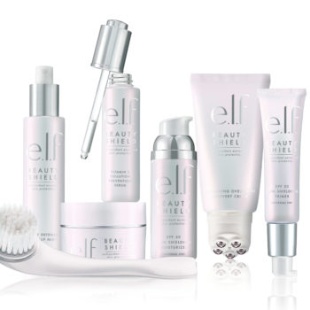 Just in time for summer, E.l.f. Cosmetics' new Beauty Shield collection focuses on sun protection