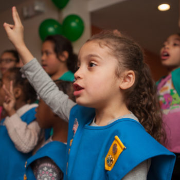 New York City has its first homeless Girl Scout troop
