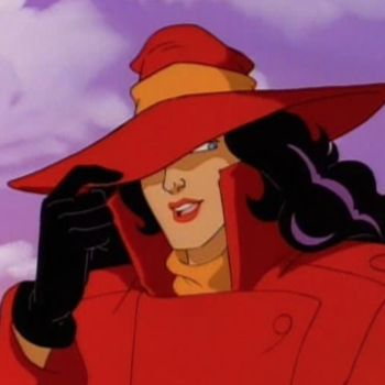 The first image from Netflix's new Carmen Sandiego is here, and we're only buying red from now on