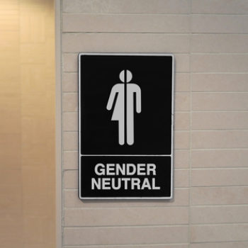 This college student's gender neutral bathroom selfies will make your day