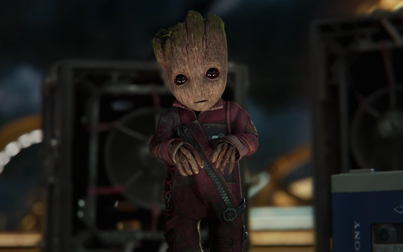 Disney's going to plant a tree for every Baby Groot dance you do, and this is a no-brainer