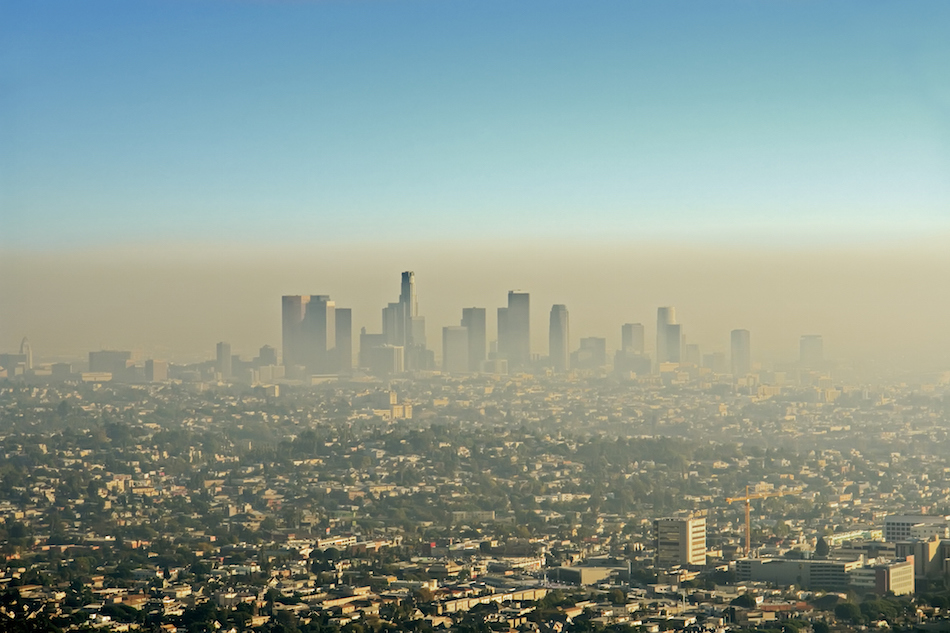 Uh-oh. This is the state with the most polluted cities