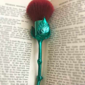 Storybook Cosmetics is launching their rose brush set soon, proving that April showers bring May flowers