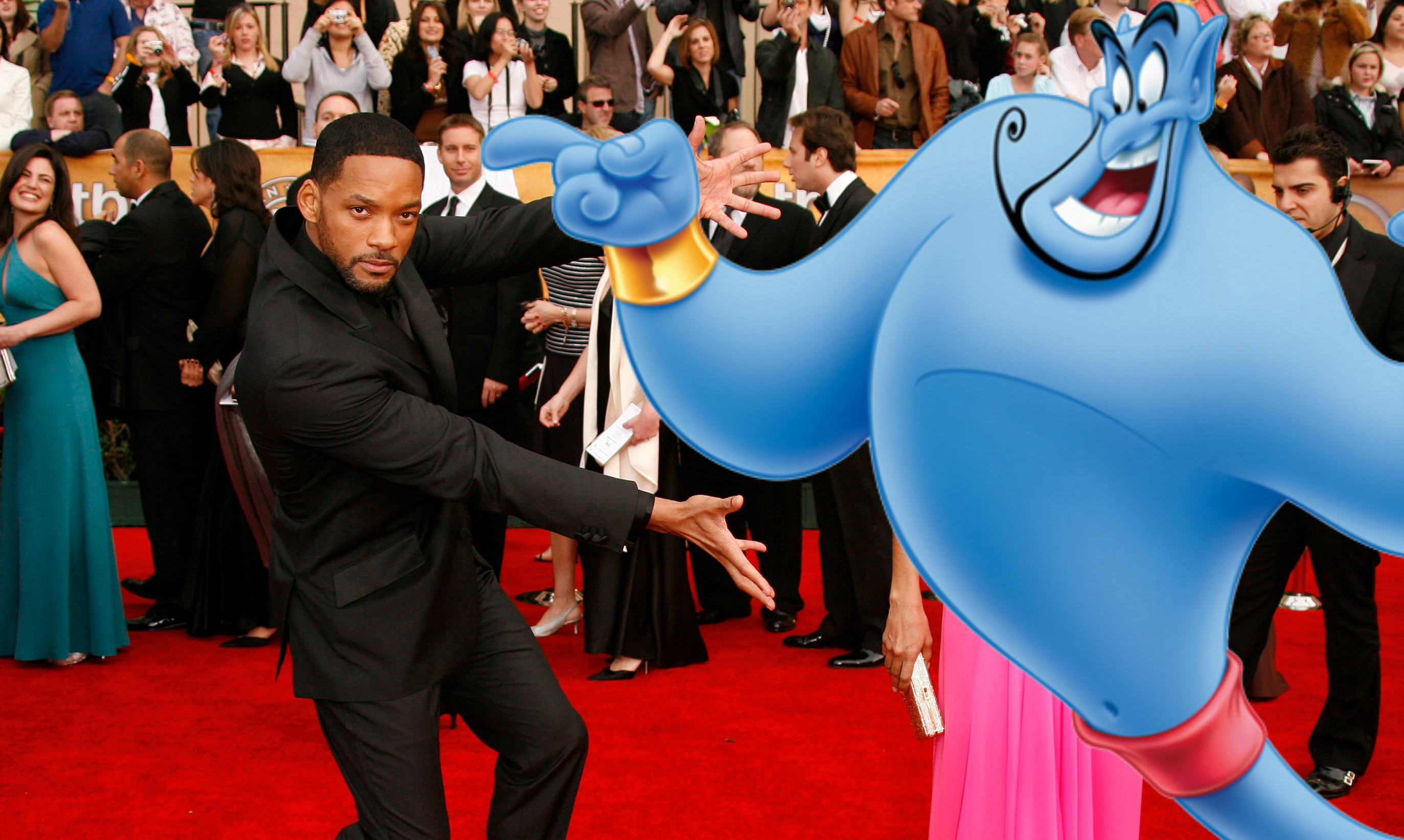 "Will Smith might play the Genie in Disney's live-action ""Aladdin,"" and yes, this is a thing that could happen"