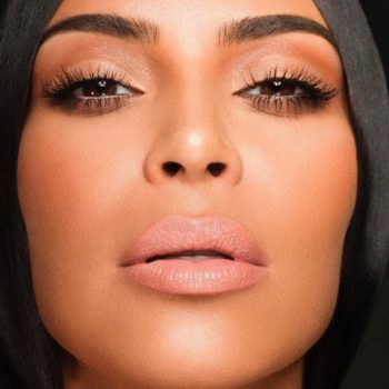 We're going gaga over these swatches of the Kylie Cosmetics and Kim Kardashian collab