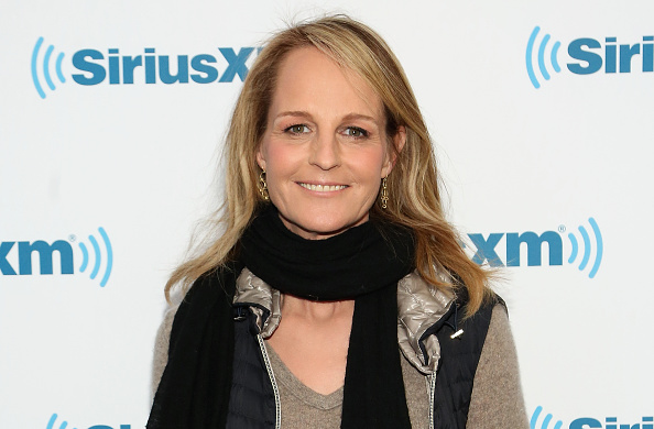 "Helen Hunt said her acting background helped her direct ""Feud"""