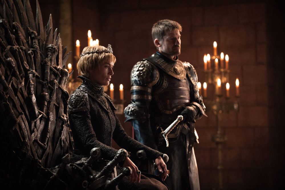 "We need to have a discussion about the crazy sexual tension in the ""Game of Thrones"" season premiere between Euron and Cersei"
