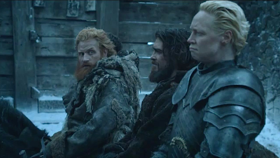 "Tormund's got heart eyes for days in the first picture from ""Game of Thrones"" Season 7"