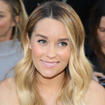 Lauren Conrad's messy twist-knot hairdo is what we'll be trying this summer
