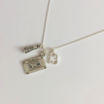 "7 pieces of ""13 Reasons Why"" jewelry from Etsy that your heart needs"