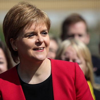 Scotland's first minister crashing a news report about herself is the internet's latest gift