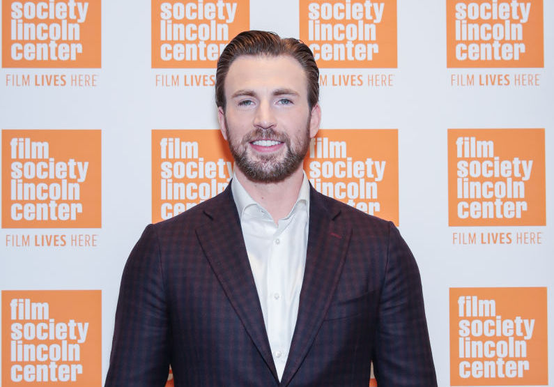 Captain America (aka Chris Evans) is making his way to Broadway