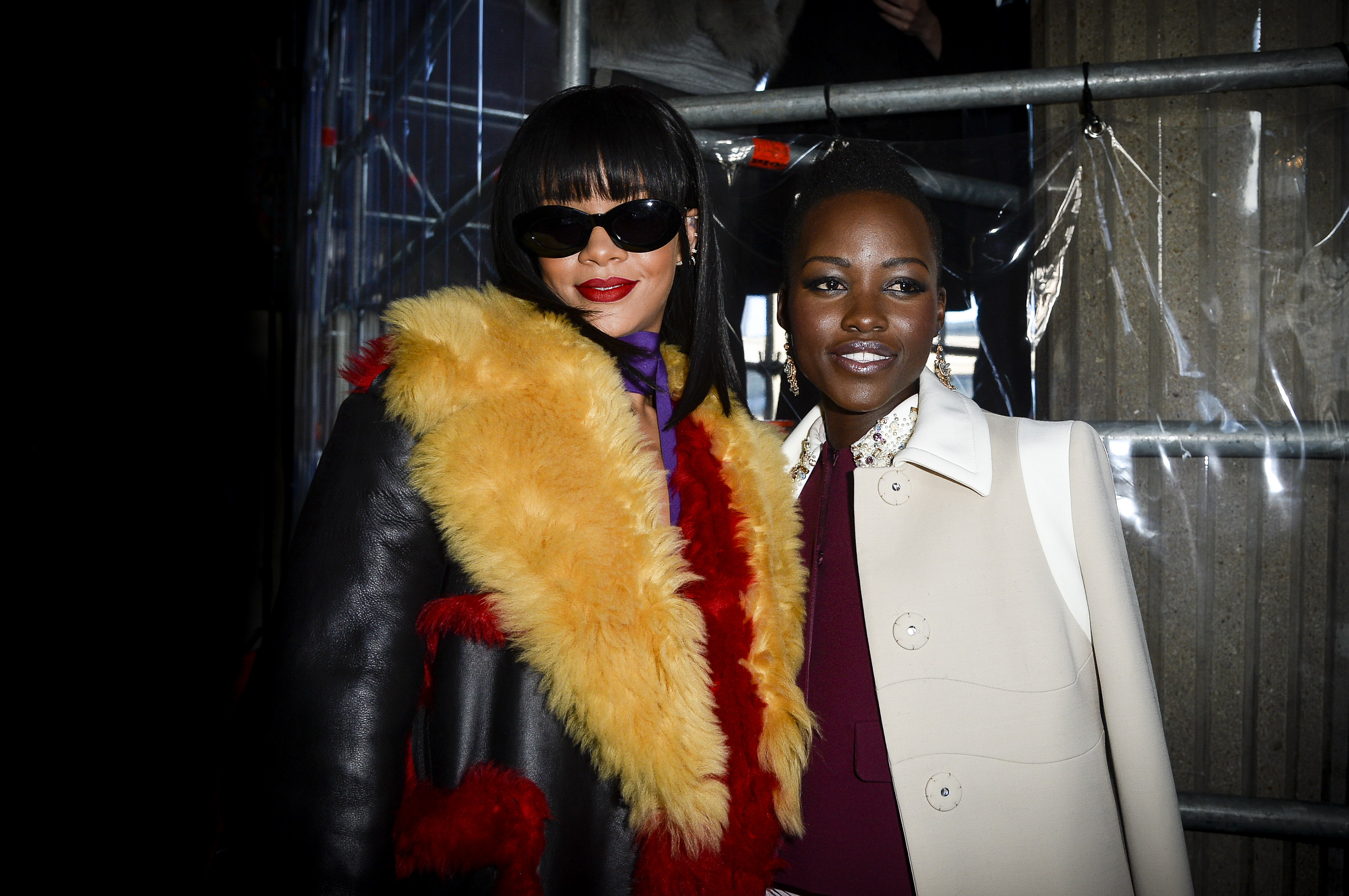 The internet wants Lupita Nyong'o and Rihanna to star in a movie based on this photo