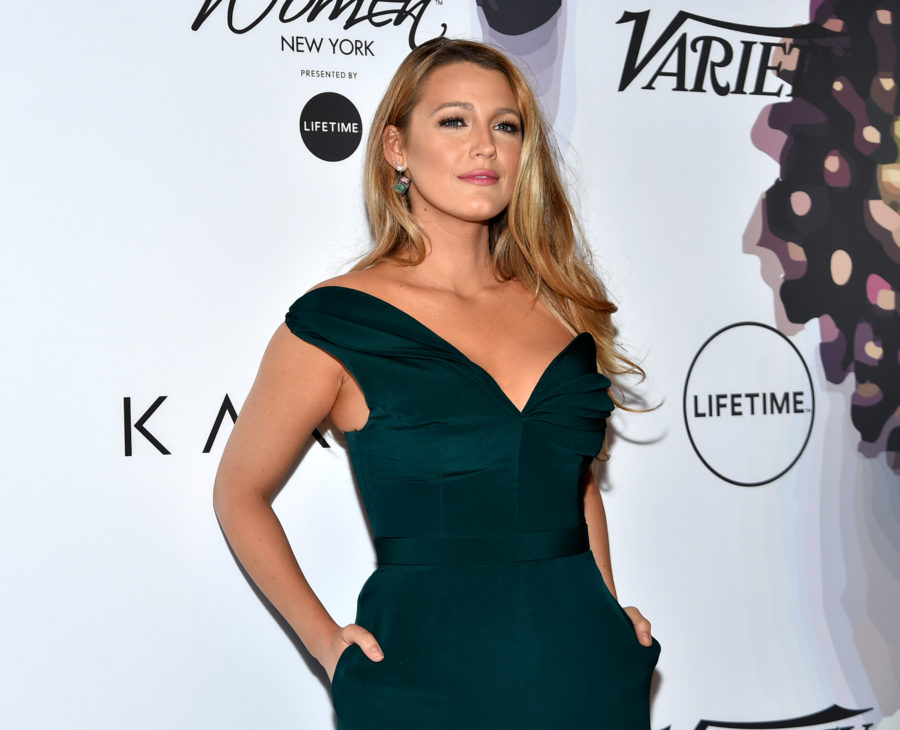 Blake Lively just clapped back against a reporter who asked her a sexist question