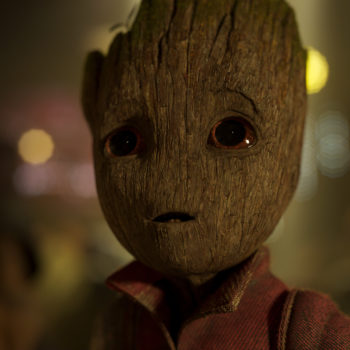 """There was a tiny stand-in Baby Groot on the set of """"Guardians of the Galaxy,"""" and he was so cute no one could deal"""