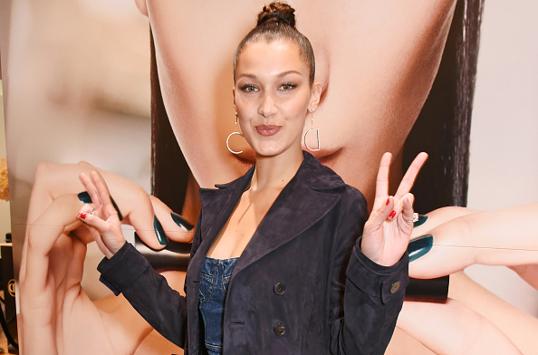 Bella Hadid is making a seriously chic case for the return of those '90's chain-link belts