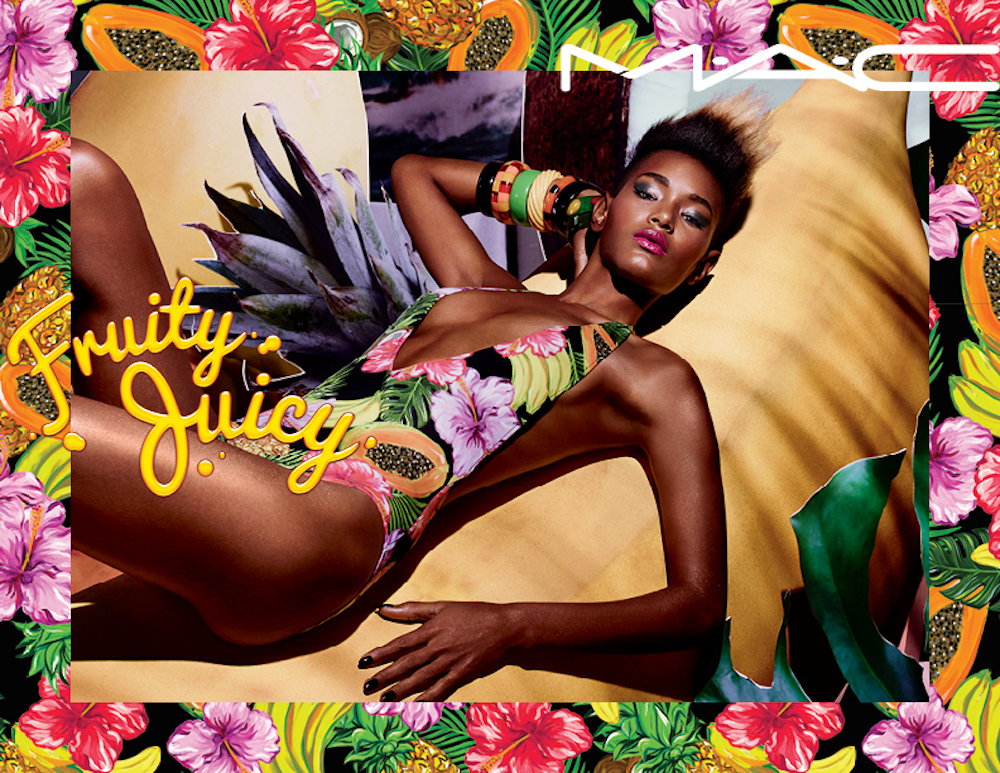 MAC Cosmetics' new Fruity Juicy collection will make you feel like you're on a tropical vacation