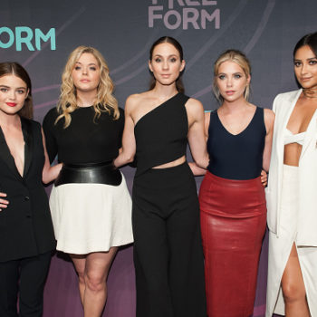 "Lucy Hale says her co-stars are just like their ""Pretty Little Liars"" characters, and bless"