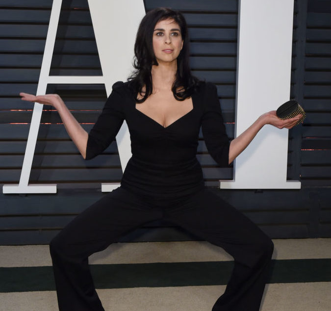 Sarah Silverman just had a day-long pants nightmare, and we can all relate