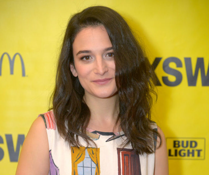 Jenny Slate's delicate floral dress is the perfect '90s dress with a modern twist