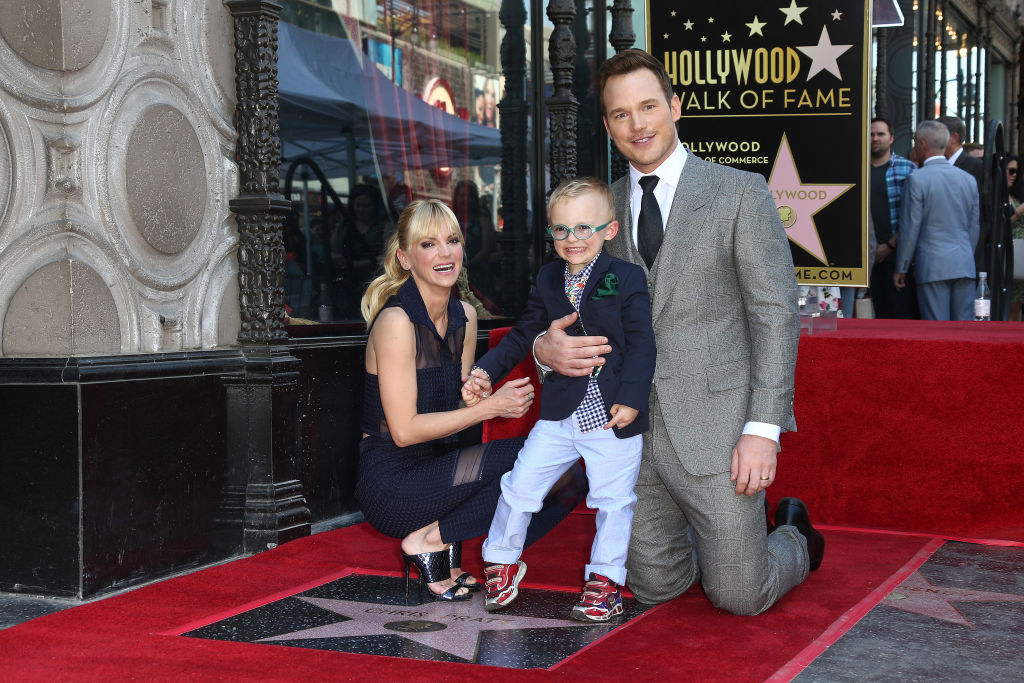 Anna Faris couldn't stop live-tweeting as Chris Pratt got his Hollywood Walk of Fame star today