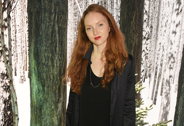 Lily Cole's skirt has us looking for a time machine to take us back to the '70s
