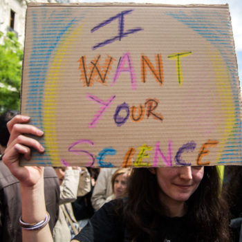 21 clever–and inspiring!–photos from Saturday's March for Science