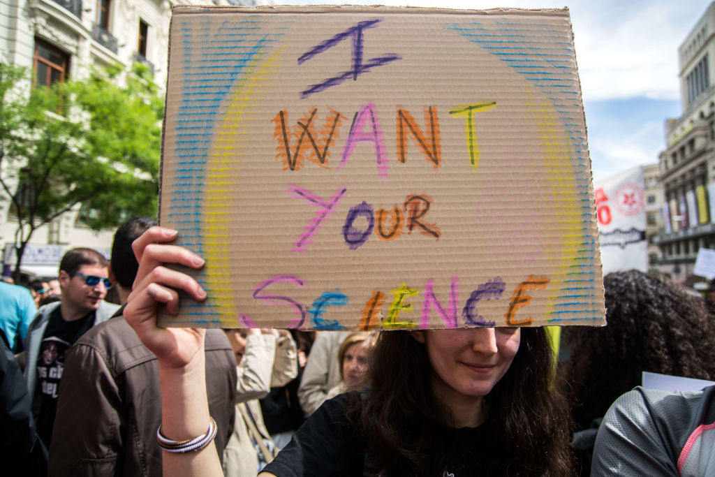21 clever--and inspiring!--photos from Saturday's March for Science
