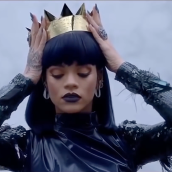 Take a break to enjoy these photos of the Queen of England in Rihanna's most iconic outfits